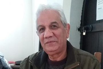 Middled-aged south-asian man